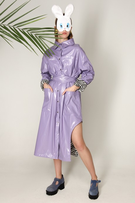 Purple trench